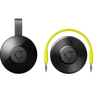 Google Chromecast Network Audio Player - Wireless LAN - Black (2nd Generation)